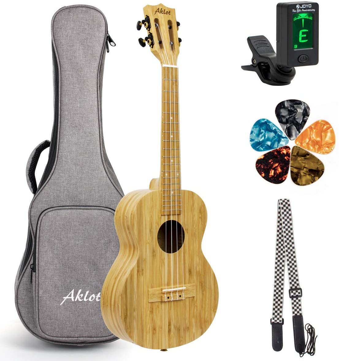 Concert Ukulele All Solid Bamboo