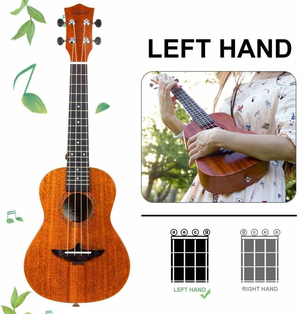 Left Hand Concert Ukulele